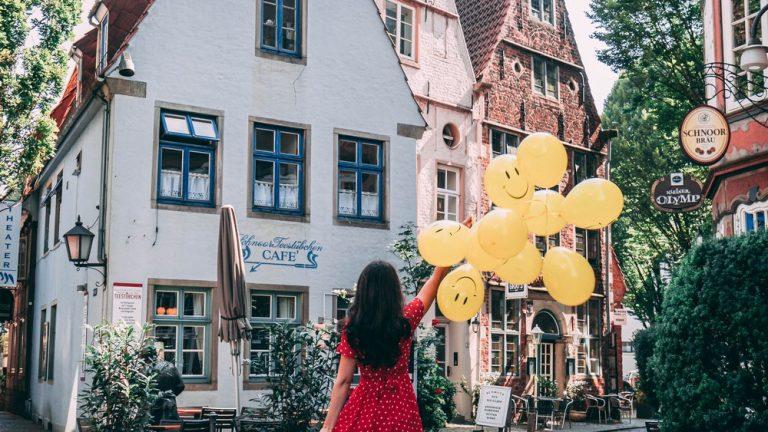 Fericire si baloane in Bremen